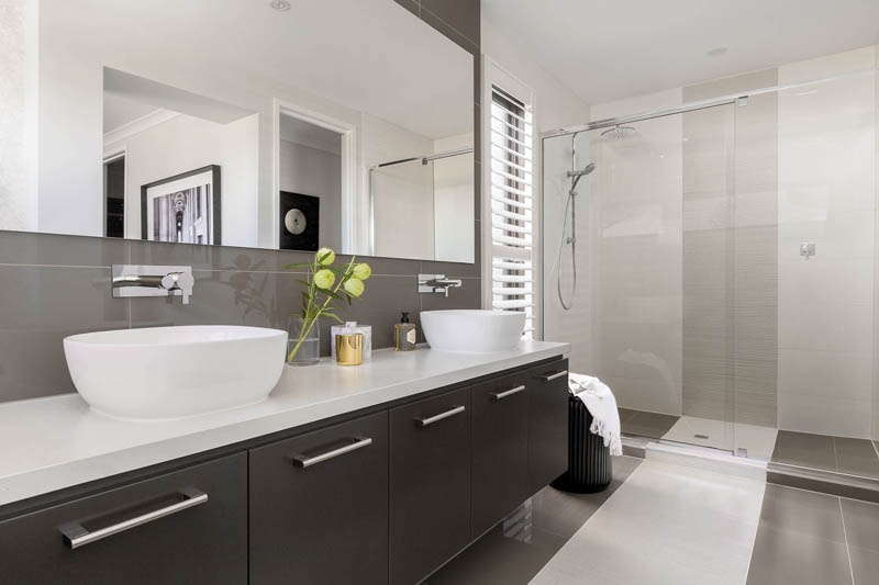 Henley Lexington Upper Point Cook Bathroom Caesarstone