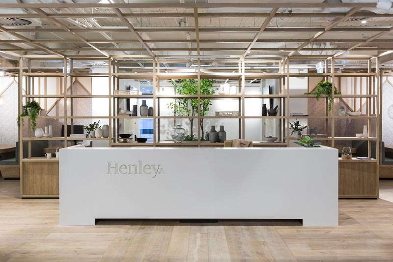 Henley Design Showroom Front Office