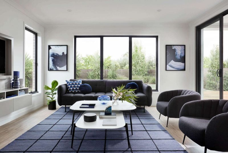 Henley Ashbury Series Home Interiors - Living Room