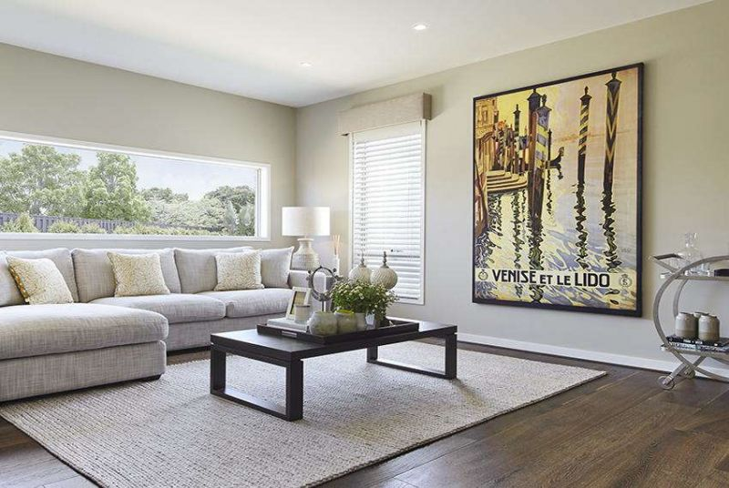 Henley Carmelle Series Home Interiors - Living Room