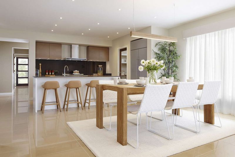 Henley Cascade Series Home Interiors - Dining Room