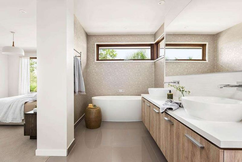Henley Lexington Series Home Interiors - Bathroom