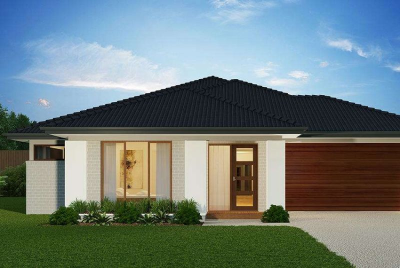 Henley Lexington Series Lehmann Facade Home