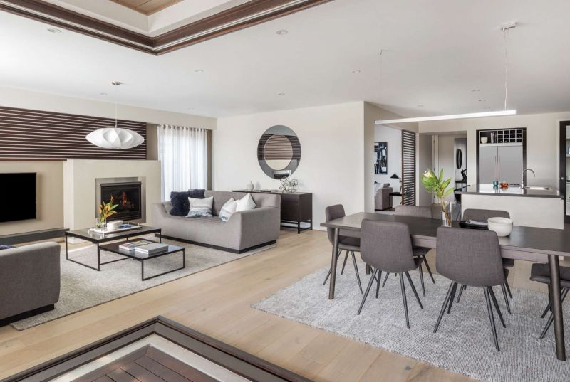 Henley Monterey Series Home Interiors - Living Room