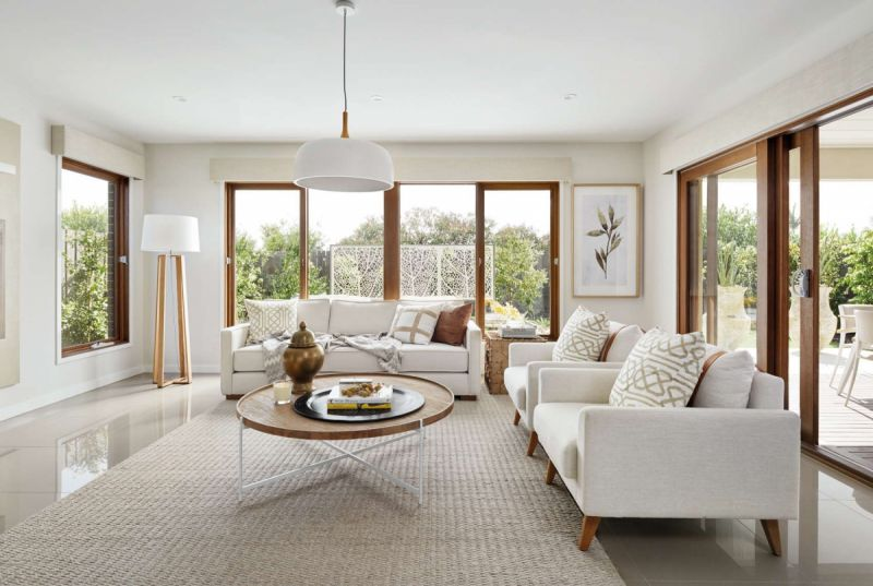 Henley Palace Series Home Interiors - Living Room