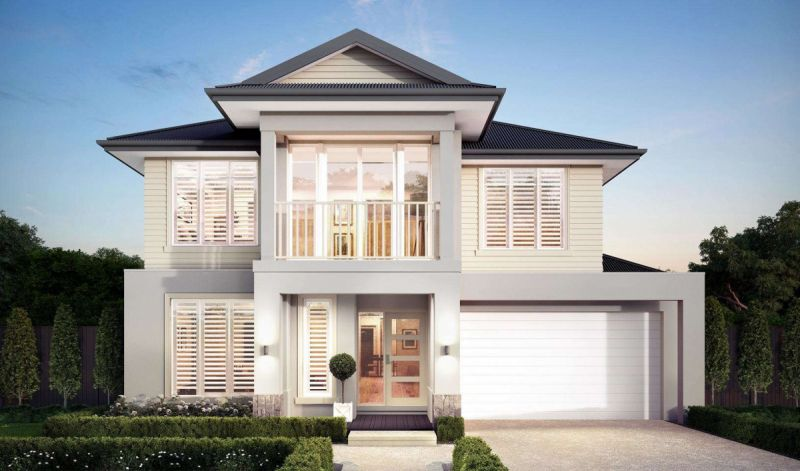 Henley Reserve Collection Aegean Series Eastport Facade Home