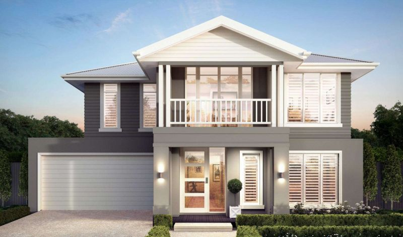Henley Sahara Series Eastport Façade Home